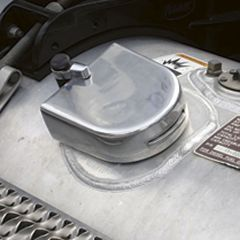 Lock-On Guard Fuel Cap Cover