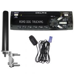 Delphi Heavy Duty Radio Bundle Pack with Antenna