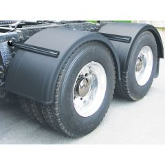 "76"" Poly Single Axle Fenders and Mounting Kit"