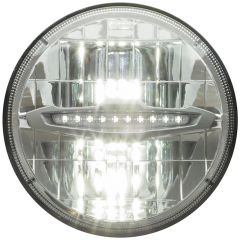 "7"" Round Opti-Brite High/Low Beam LED Headlight"