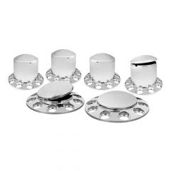 Front & Rear Axle Cover Kit without Nut Covers