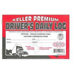 Driver's Daily Log Book w/Recap (Carbonless)