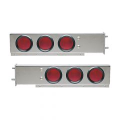 SS Spring-Loaded Rear Light bars with Inc. Lights