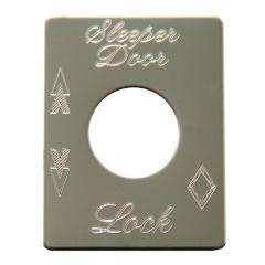 Peterbilt Sleeper Lock Plate