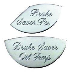 Brake Gauge Emblem