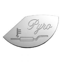 Peterbilt 379 Large Pyrometer Gauge Emblem