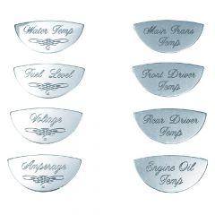 Master Pack B Gauge Label Emblems