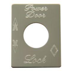 Peterbilt Door Lock Plate