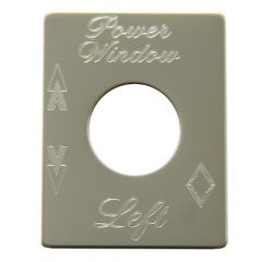 Power Window Left Plate Cover