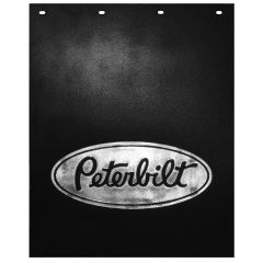 "24""W x 30""L Black Poly Peterbilt Mud Flap (EA)"