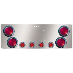 SS Rear Center Panel with Incandescent Lights