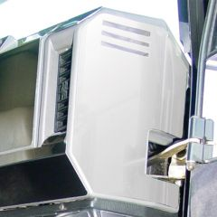 Freightliner Right Side End Dash Trim