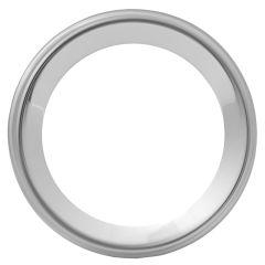 """Peterbilt Chrome Gauge Bezel 2 1/4""""D"""