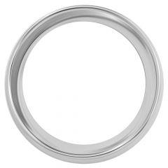 "Kenworth Chrome Steel Small Gauge Bezel 2-5/16""Dia"