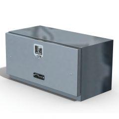 """36""""L x 18""""H x 18""""D Aluminum Box with Single Door"""