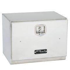 """30""""L x 18""""H x 18""""D Aluminum Box with Single Door"""