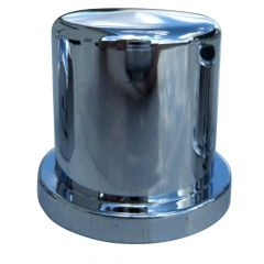 """33mm or 1-1/4"""" Chrome Plastic Top Hat Nut Cover"""