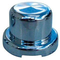 "9/16"" Chrome Top Hat Lug Nut Cover - Push On"