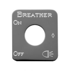 Kenworth Breather Lights Toggle Switch Plate