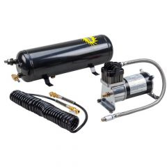 Turbo Compressor and Extended Air Tank System