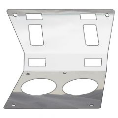 Center Console Map Light Trim for Kenworth 2004 and Older