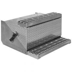 "30""L Aluminum Diamond Plate Battery Box"