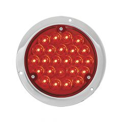 "4"" Round Pearl LED Light in Housing with 1157 Plug"