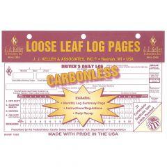 Loose-Leaf Driver's Daily Log w/Recap (Carbonless)