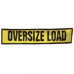"18"" x 84"" Oversize Load Sign with Grommets"