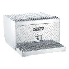 "24""L x 15""H x 30""D Aluminum Cab Entry Step Box"