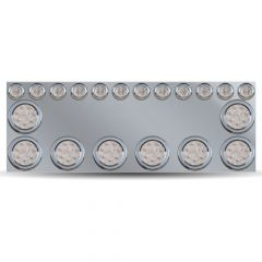 """SS Rear Center Panel with Nine 4"""" and Twelve 2"""" LED"""