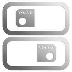 Volvo Stainless Steel Door Handle Trim 2003+ (PR)