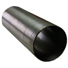 """5"""" x 24"""" Stainless Steel Flexible Hose"""