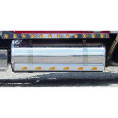 "Peterbilt 67"" Fuel Tank Fairings with Inc. Lights"