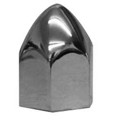 "1-1/4"" Chrome Plastic Nut Cover - Push On"