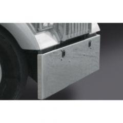 Kenworth W900L 20-Inch Boxed End Chrome Bumper
