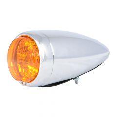 Spyder Chrome Steel Bullet Style LED Turn/Marker & Clearance Light