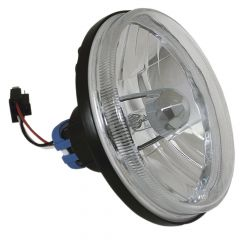 "5-3/4"" Round Halogen Headlamp with 9007 Bulb"
