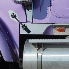 International 9900I Lower Hood Latch Trims PR
