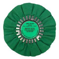 "Zephyr 8"" Hall Green Buffing Wheel"