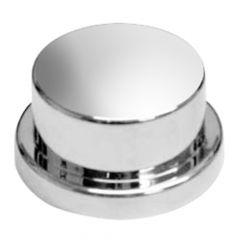 "3/4"" Chrome Bumper Button Nut Cover - Push On"