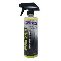 Zephyr PRO-33 SPO-DEE-O-DEE Spray Wax 16 oz.