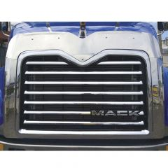 Bugshield and Side Grill Trim for Mack Vision & Pinnacle