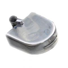 "Lock-On Fuel Cap Guard FL, Sterling 3.5"" Neck"