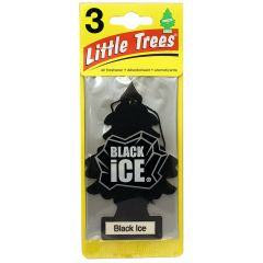 Little Trees in Black Ice