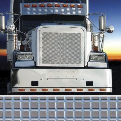 Freightliner In-Line Square Punched Grill