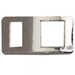 International I Model Chrome Panel Light Bezel