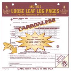 Mid-Size Daily Log Loose Leaf (Carbonless Copy)