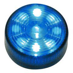"""2"""" Round Blue Auxiliary LED Light"""