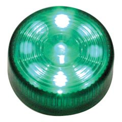 """2"""" Round Green Auxiliary LED Light"""